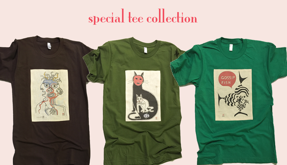 Image of special tee collection - #1/2/3