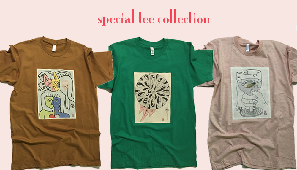 Image of special tee collection - #7/8/9