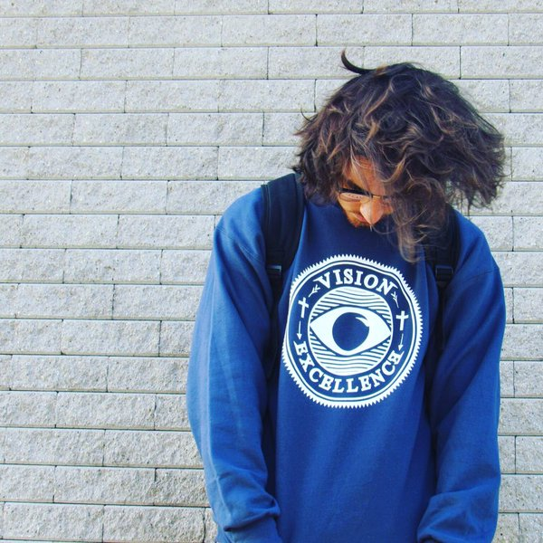 Image of VOE Blue Crewneck