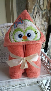 Image of Toddler Hooded Towels