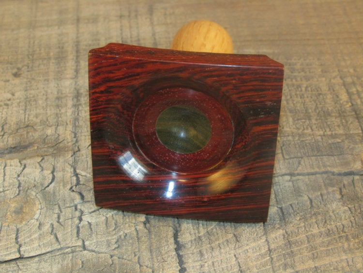 Image of Spindle Lap Bowl SLB06,Lignum,Padauk,Cocobolo,Oak,2 3/8x3 1/4