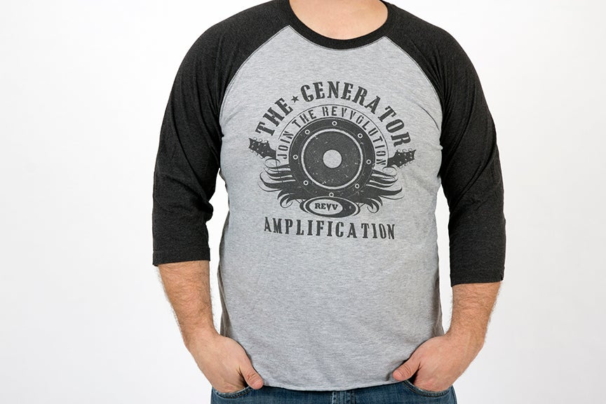 Image of Grey Baseball T-Shirt