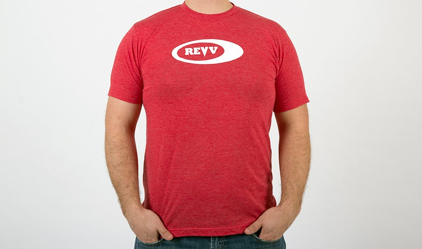 Image of Revv Red Logo T-Shirt