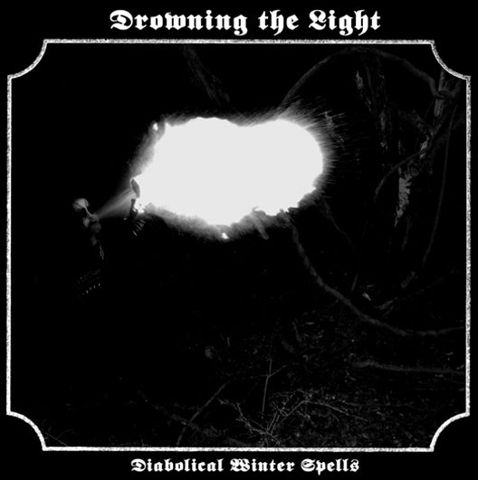 "Image of Drowning the Light - ""Diabolical Winter Spells/Rise of the Black Serpent"" CD"