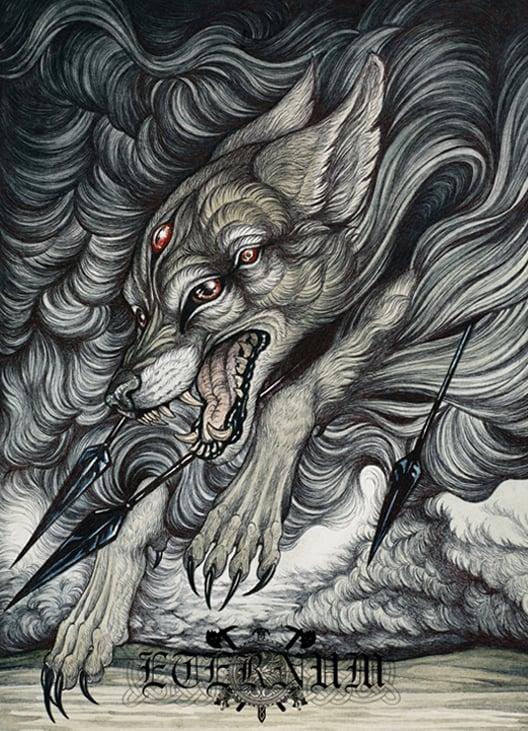 "Image of Eternum - ""The Devouring Descent"" CD"