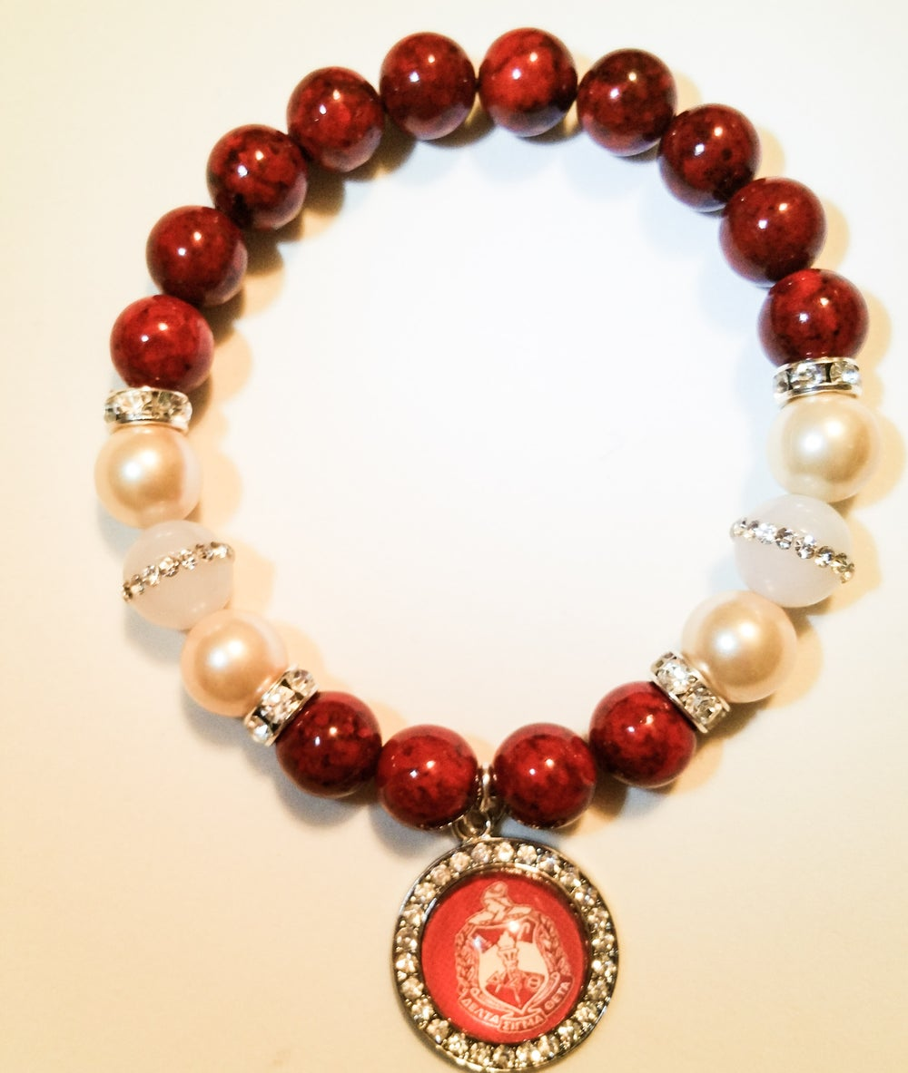 "Image of Urban Ellegance HBCU ""Anniversary"" Bracelet AKA,DST,ZPB,Inspired Armcandy Bracelet"
