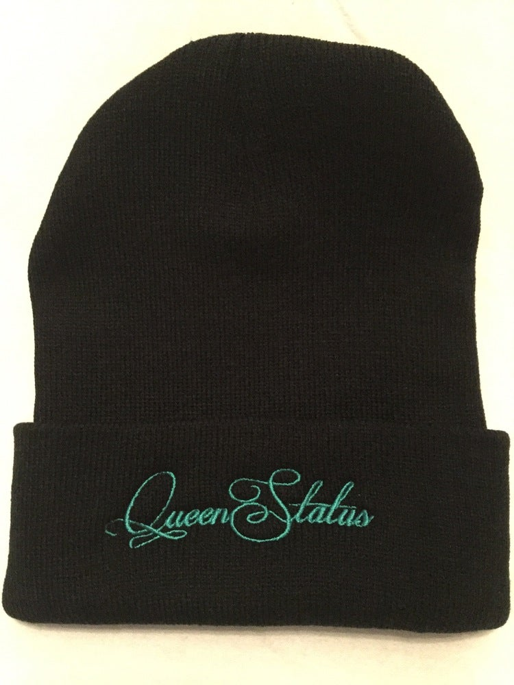 """Image of """"Queen Status"""" Beanies (Color options in drop down menu OR EMAIL TO REQUEST)"""