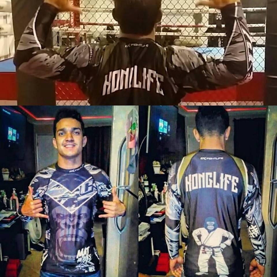 "Image of Ck fightlife ""KongLyfe""  Rashguard"