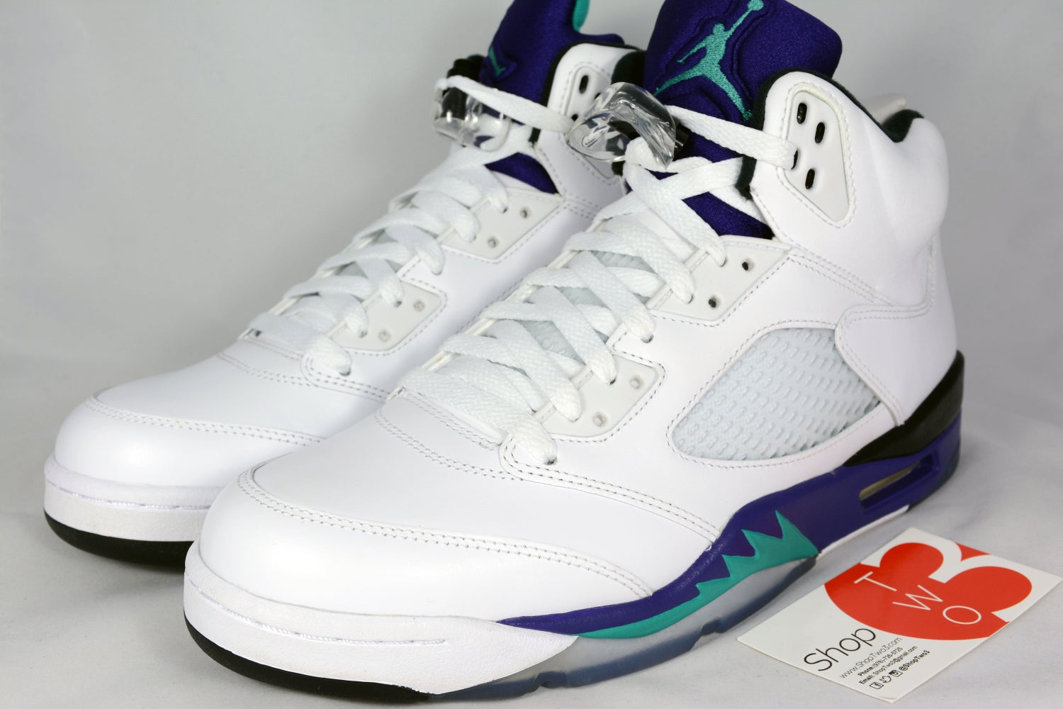 "Image of Air Jordan 5 Retro ""Grapes"""