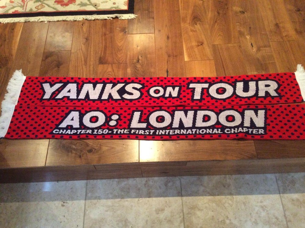 "Image of Chapter Scarf 003 - ""Yanks on Tour"""