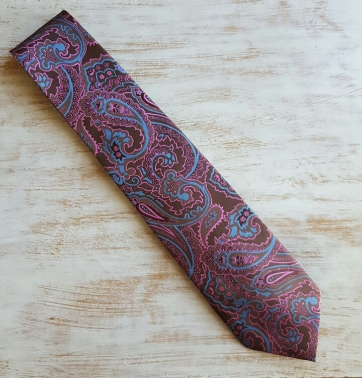 Image of TEAR DROP PAISLEY TIE
