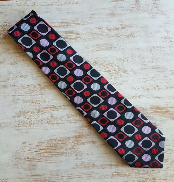 Image of JETSON BLOCK NECKTIE