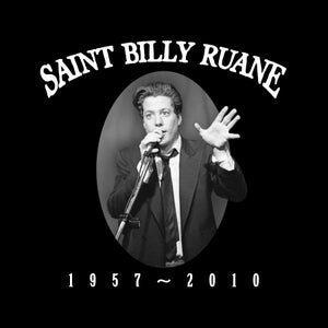 "Image of ""Saint Billy Ruane"" WOMEN'S shirt (Black)"
