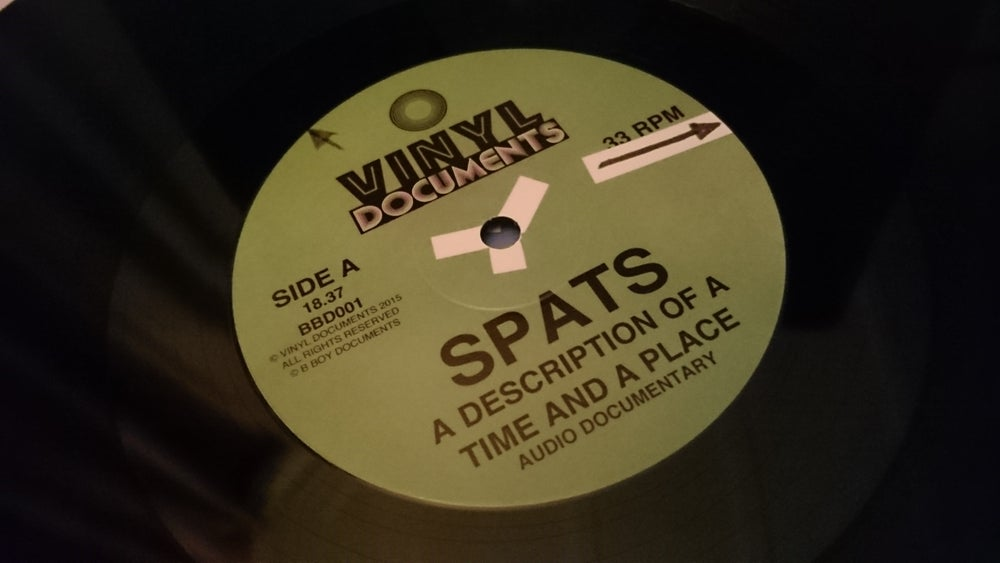 Image of SPATS: A DESCRIPTION OF A TIME AND A PLACE LP