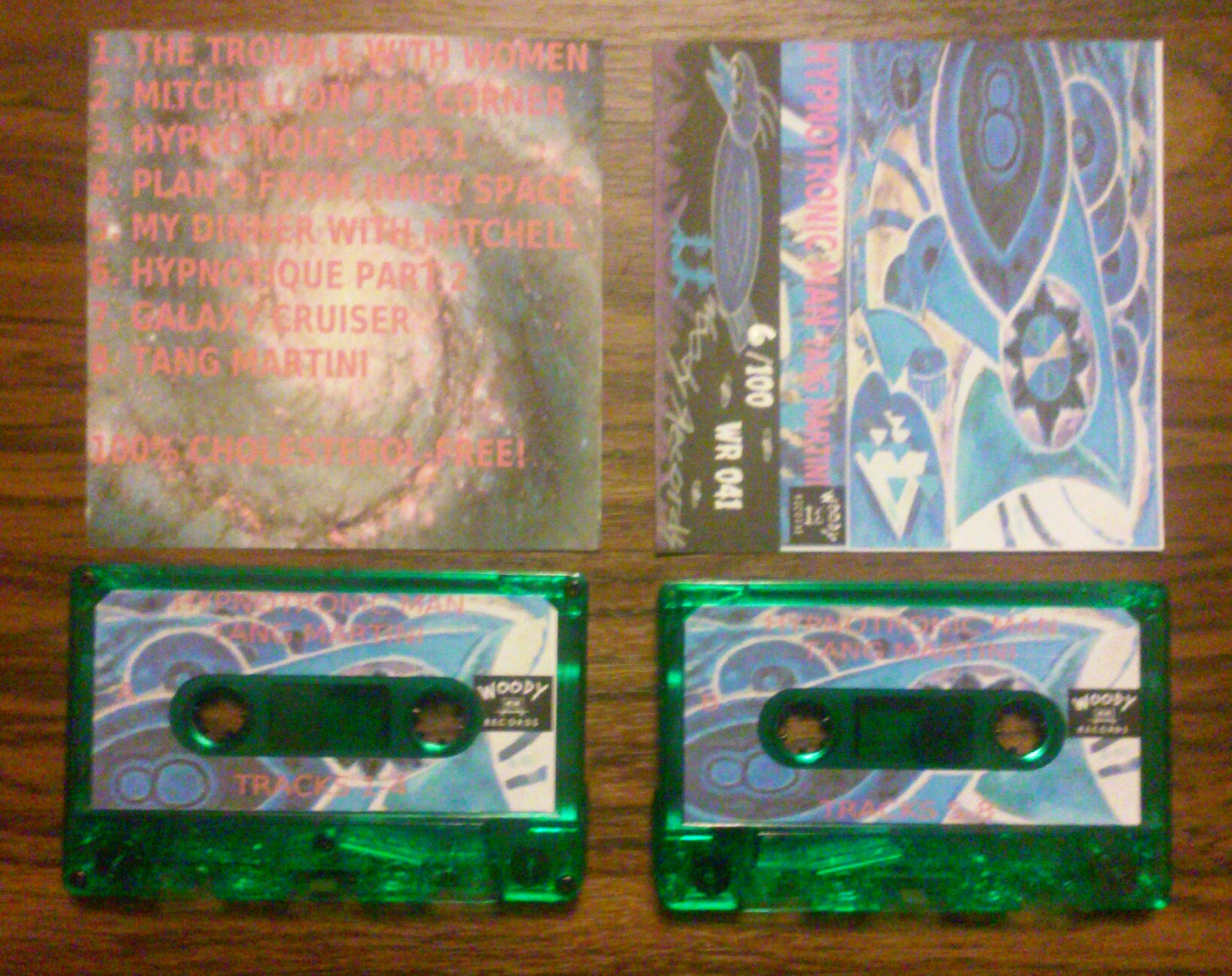 """Image of HYPNOTRONIC MAN """"Tang Martini"""" Cassette"""