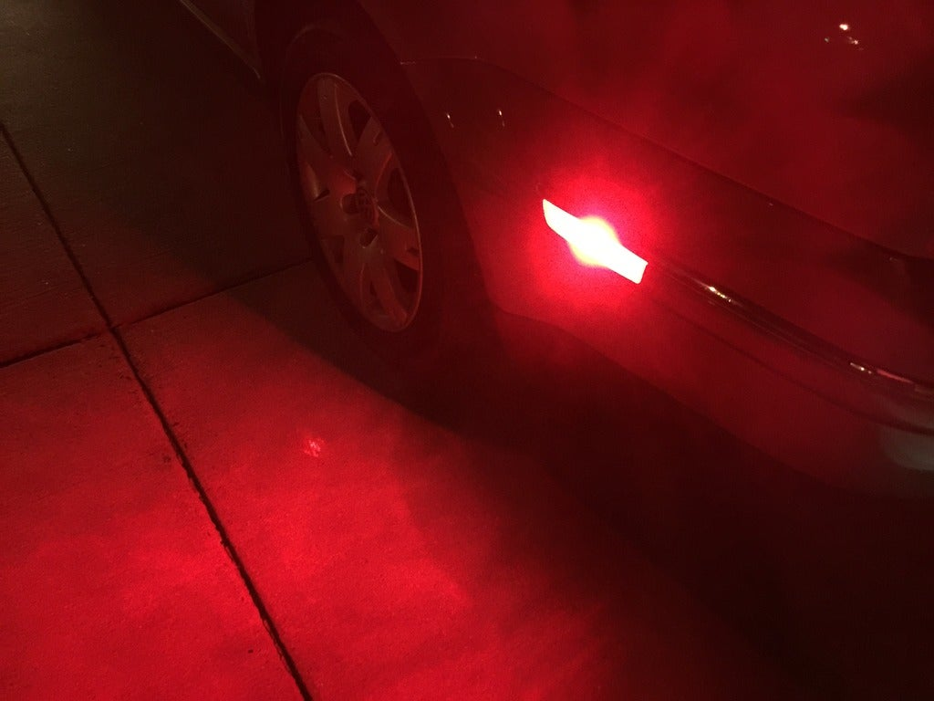 Image of Red, White and Amber Side Markers for the All Volkswagen Models