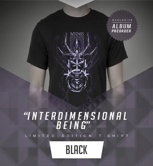 "Image of ""INTERDIMENSIONAL BEING"" Shirt"
