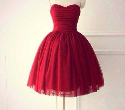 Cute Burgundy Short Ball Gown Prom Dresses, Short Prom Dresses, Homecoming Dresses 2016