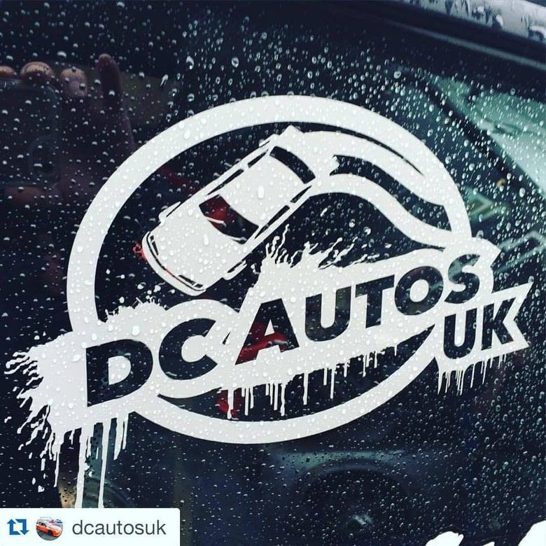 Image of DC Autos UK Sticker