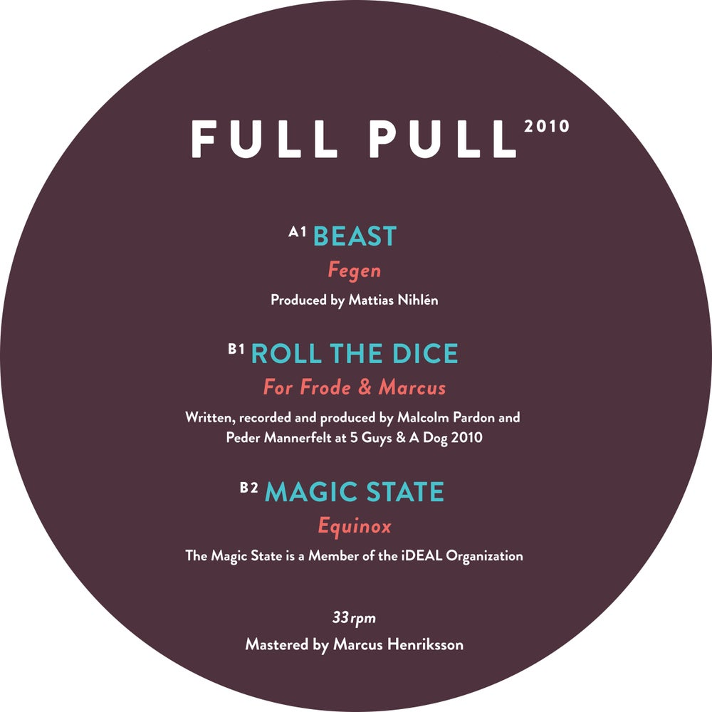 Image of [NSRD012]<br>Various Artists<br>Full Pull X<br>12""
