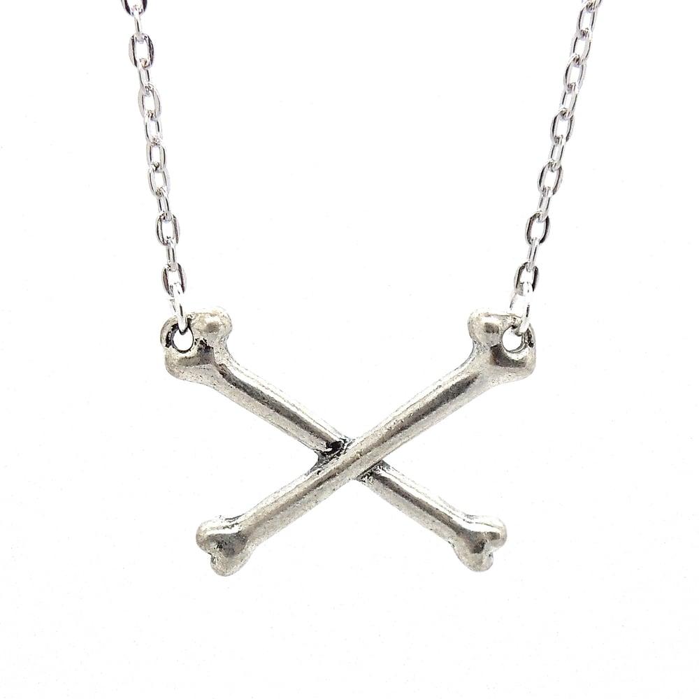 Image of Crossbones Necklace