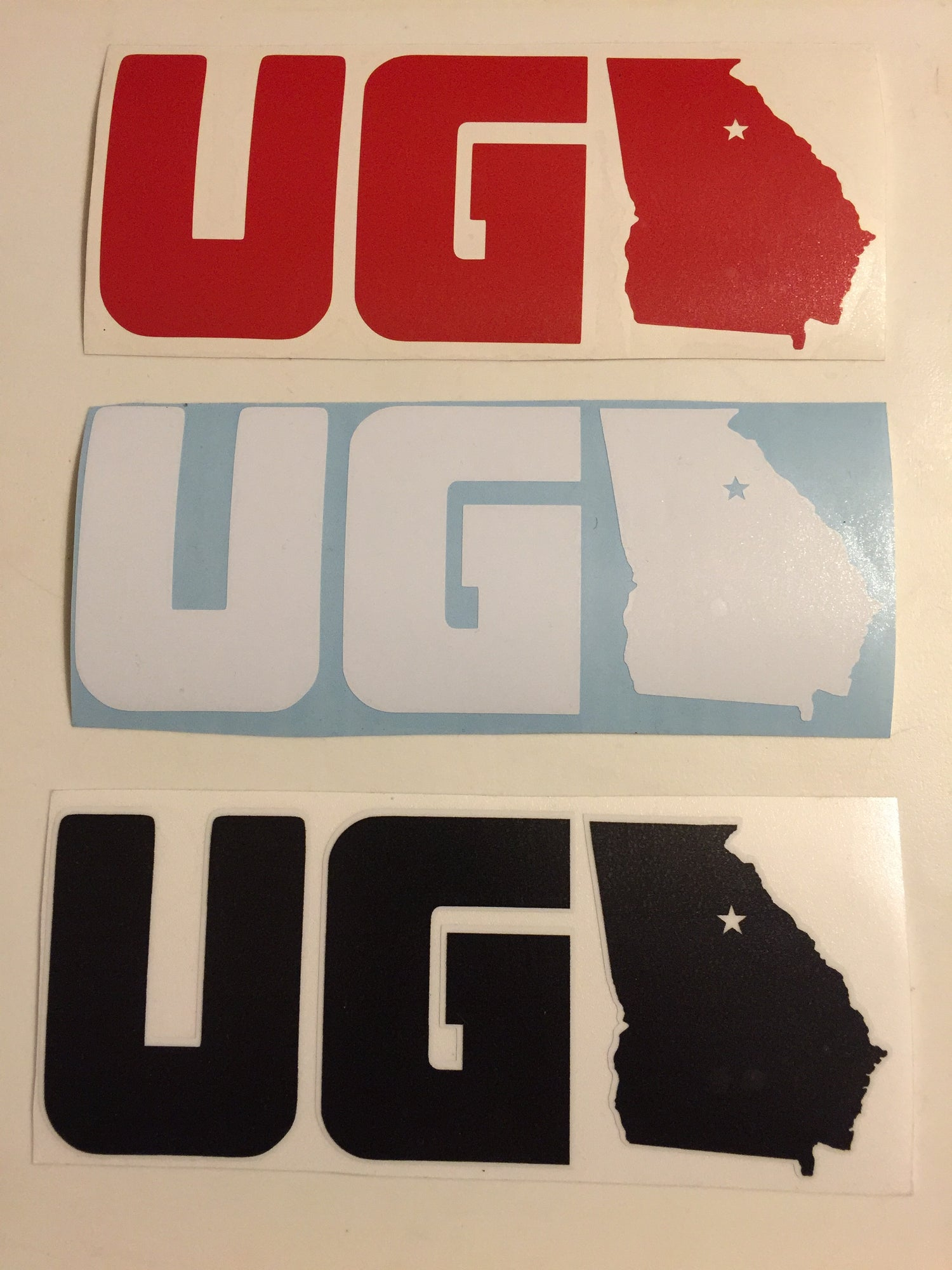 Image of UGA Stickers