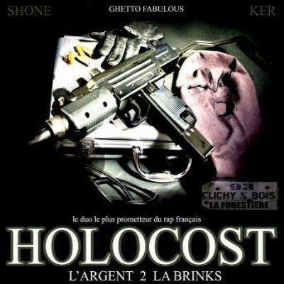 "Image of HOLOCOST CD ""L'ARGENT DE LA BRINKS"""