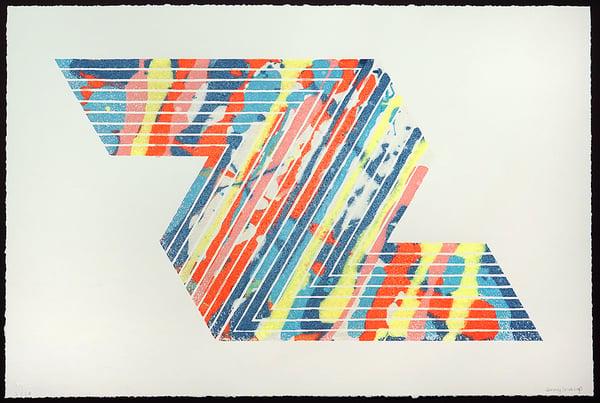 "Jenny Sharaf - ""Stella + Sharaf, 2016"" - 6 Color Screenprint - Edition of 24 - Misc. Press"