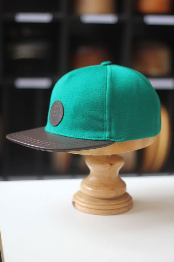 Image of Billiard cloth snapback