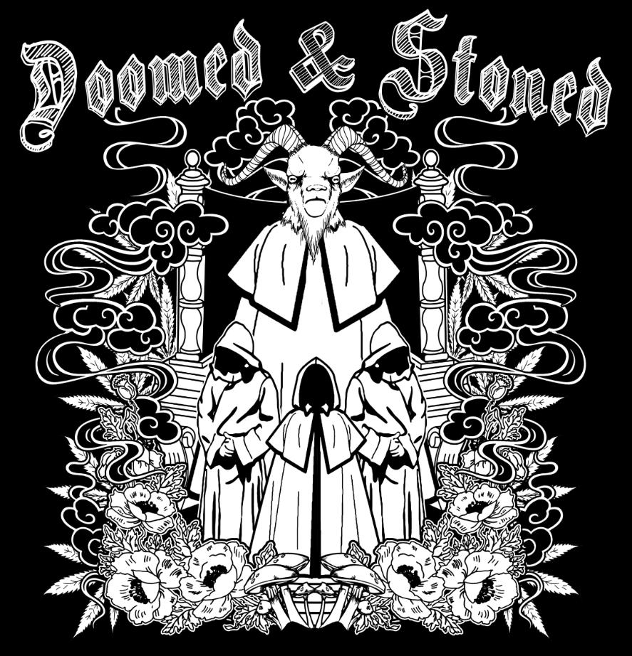 Image of Doomed & Stoned T-Shirt