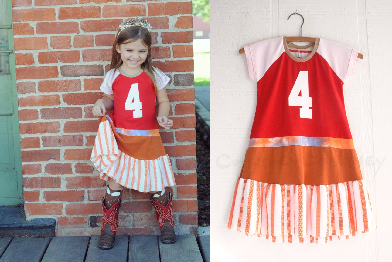 Image of birthday COURTNEYCOURTNEY custom number dress your size