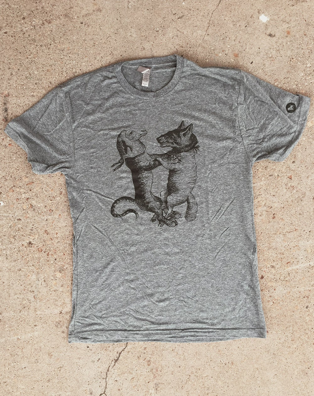 Image of The Wolf + Lamb Tee