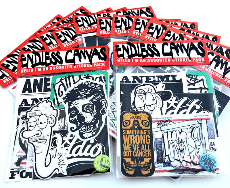 Sticker Pack - Ten Random