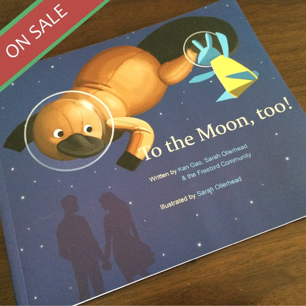 """Image of """"To the Moon, too!"""" Printed Comic Book"""