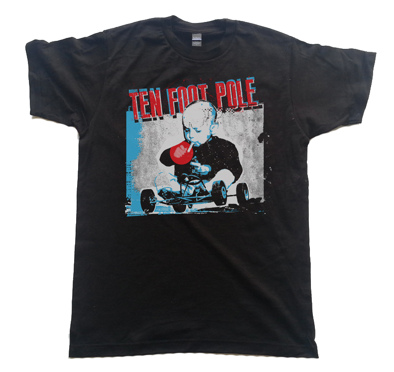 "Image of TEN FOOT POLE ""REV"" T-SHIRT"