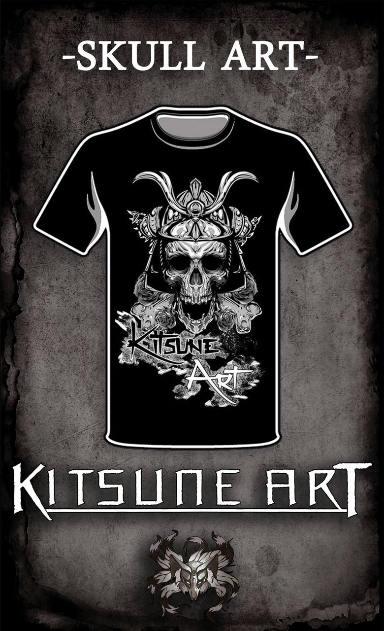 Image of Skull Art T-shirt for Men