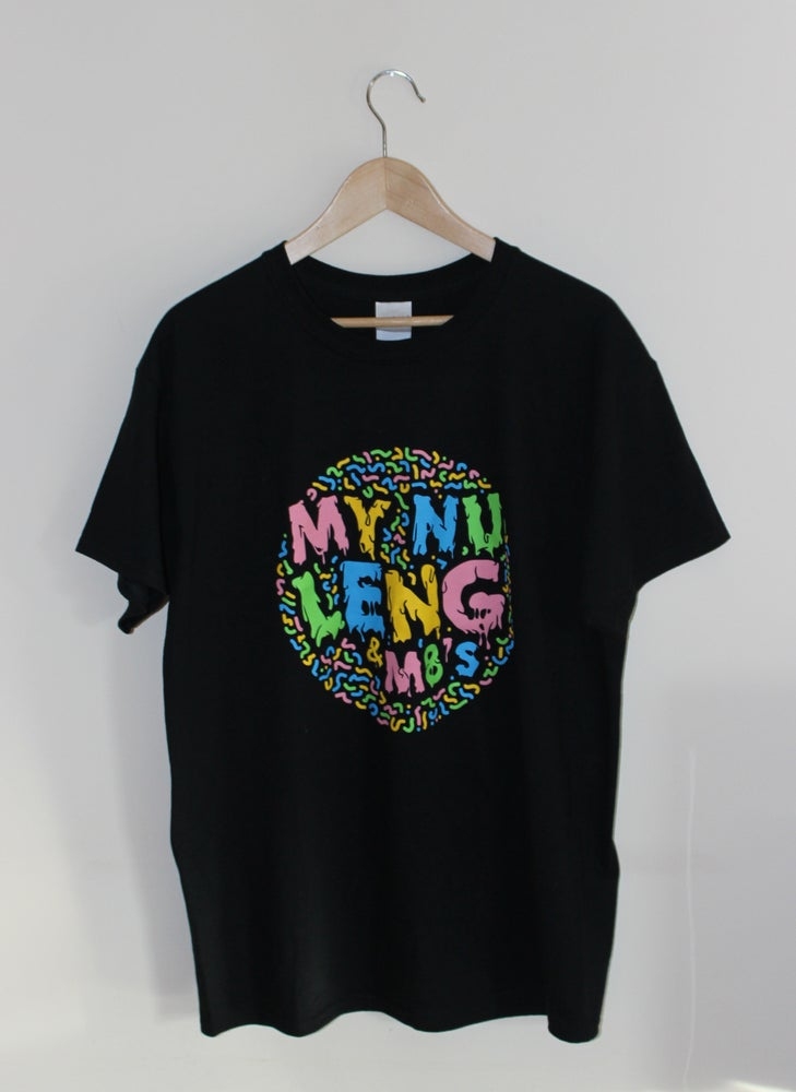 Image of My Nu Leng & M8's - Black T-Shirt
