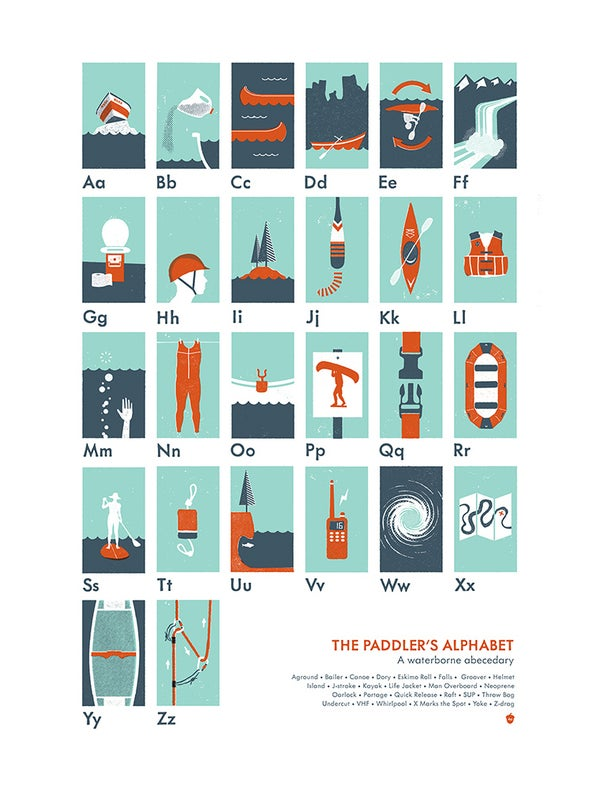 Image of The Paddler's Alphabet