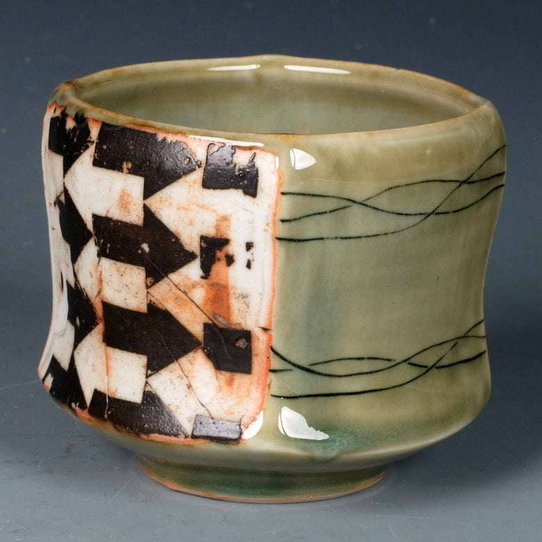Image of Square cup #1