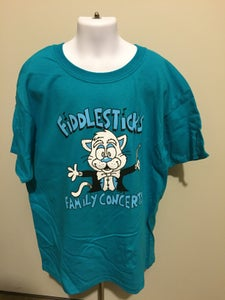 Image of Turquoise Fiddlesticks Children's T-Shirt
