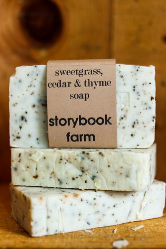 Image of Sweetgrass, Cedar & Thyme Soap
