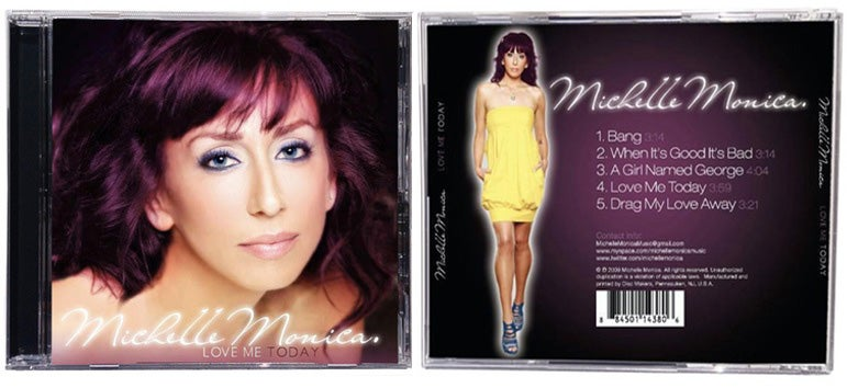 Image of Michelle Mann - Love Me Today album