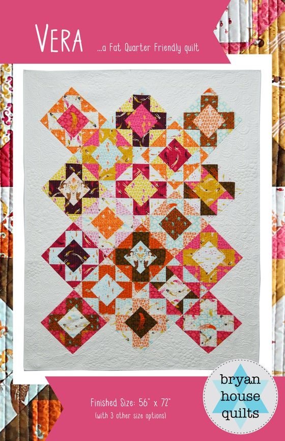 Image of Vera Quilt {Paper Pattern}