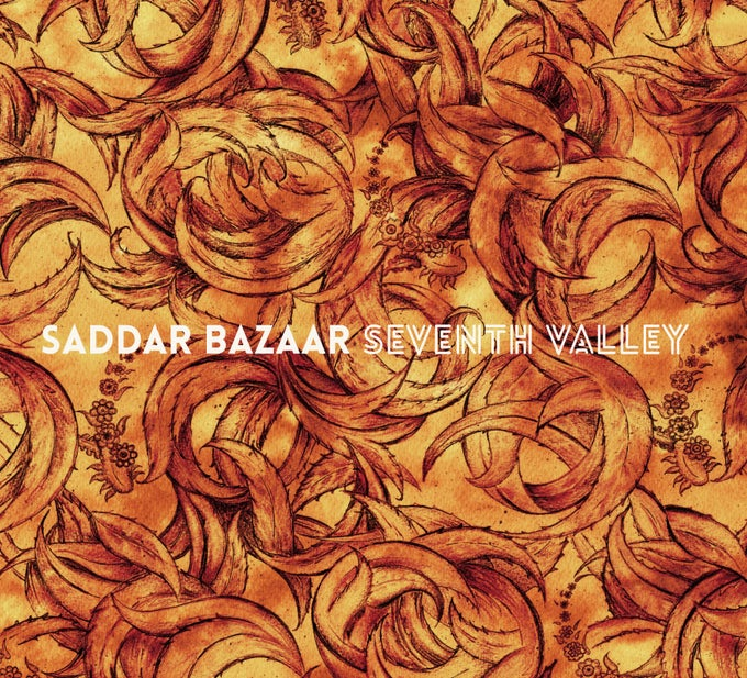 Image of Saddar Bazaar 'Seventh Valley' CD
