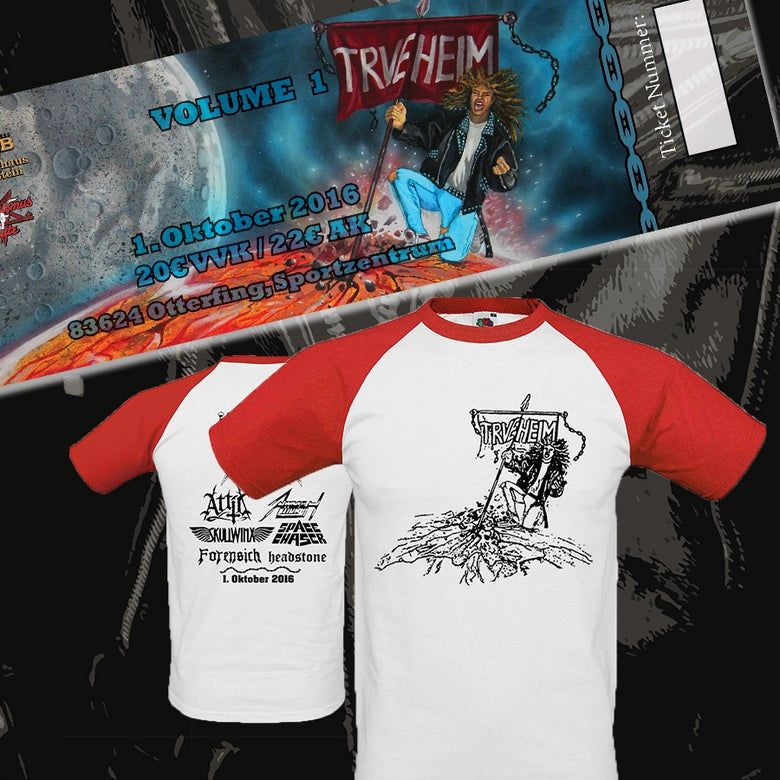 Image of Trveheim Festival Vol 1 Ticket + Shirt