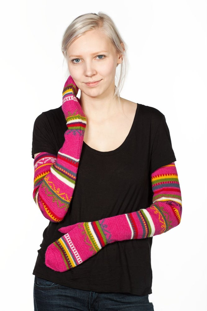 Image of WOOL MITTENS