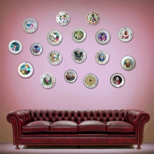 Image of The King - Vintage Spanish Porcelain Plate - #419