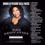 Image of RNB DEDICATION VOL. 12 (NATALIE COLE MIX) ***WEBSITE EXCLUSIVE***