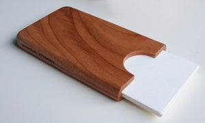 Image of Cherry business card holder