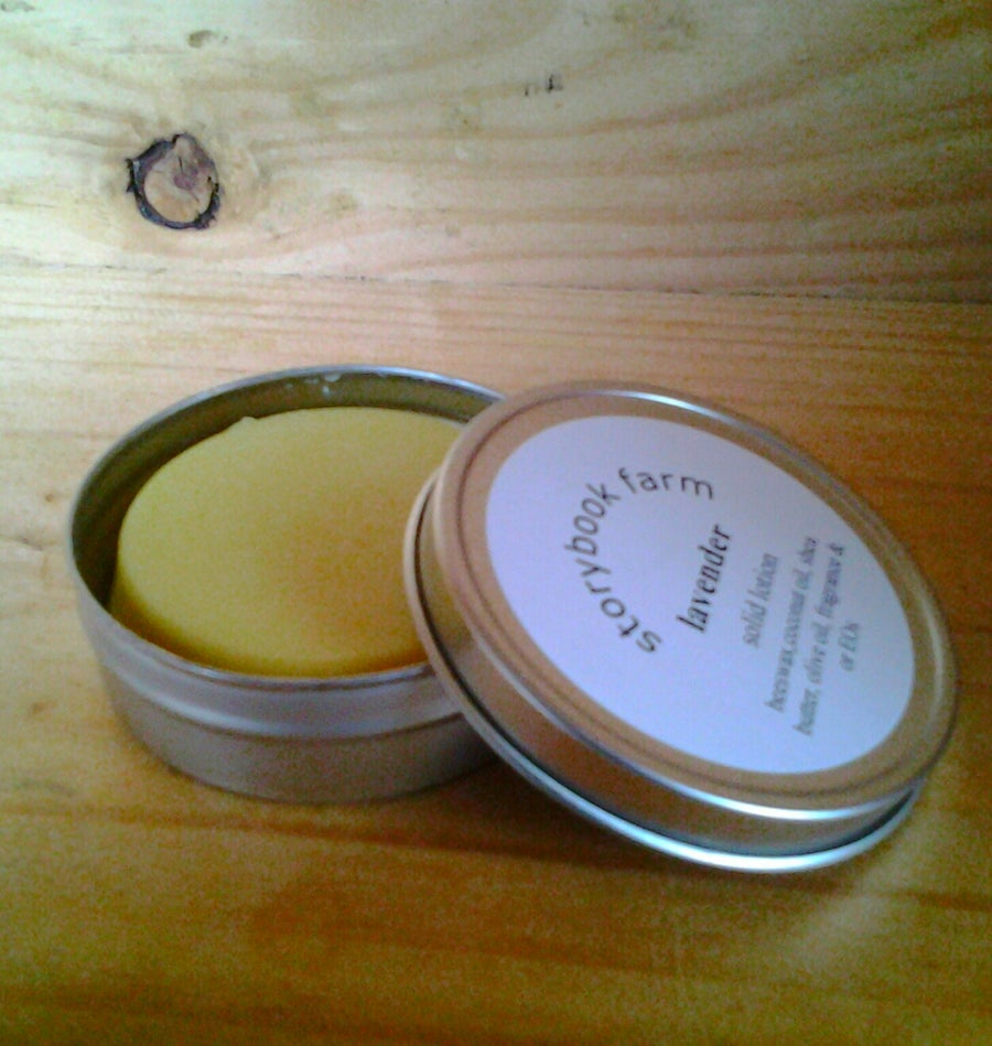 Image of Solid Lotion Bar